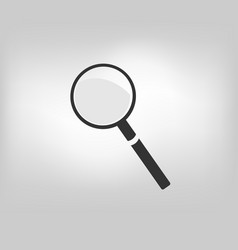 magnifier loupe magnifying glass vector image