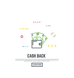 money transfer concept vector image