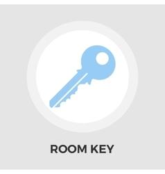Room Key Line Icon vector image