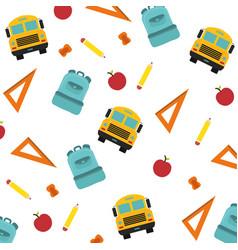 School items background vector