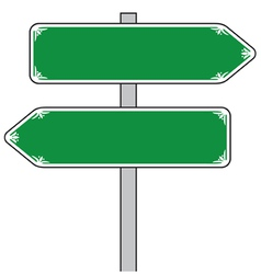 Sign direction vector