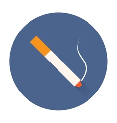 Smok cigarette icon vector