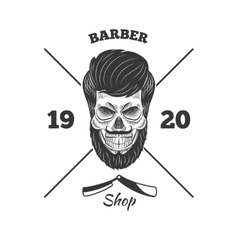 skulls logo vector image
