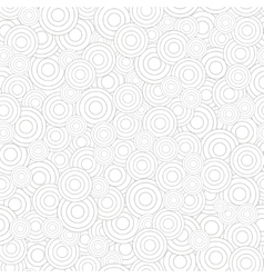 Abstract seamless pattern of circles vector