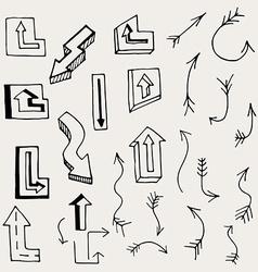 Arrows and Lines vector
