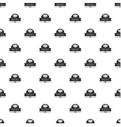 Buckle vintage pattern seamless vector