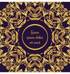 cards mandala circle 13 vector image