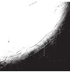 Distress Overlay Corner vector image
