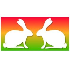 Easter background horizontal vector