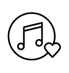 Favorite music vector