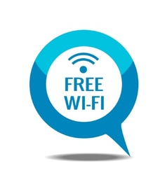 Free wi-fi icon vector