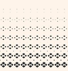 halftone geometric pattern with small diamonds vector image