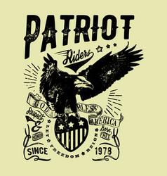 Patriot riders vector