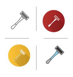 Razor icon vector