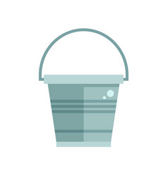 garden bucket icon vector image