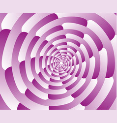 abstract pink spiral background wallpaper vector image vector image