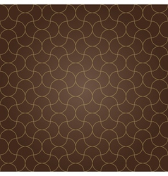 pattern background brown grid vector image vector image