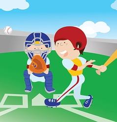 Baseballground vector