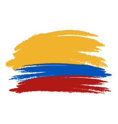 colombia flag colombia flag vector image