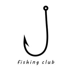 Fishing Club logo vector