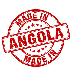 Made in angola vector