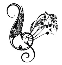 Music decorative vector
