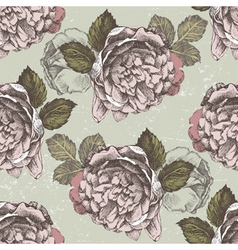 Old style roses seamless2 vector