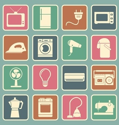 home appliances icon vector image vector image