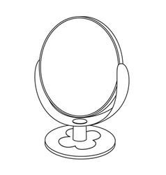 Mirror toy vector image vector image