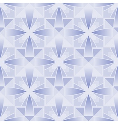 Crystal pattern vector image