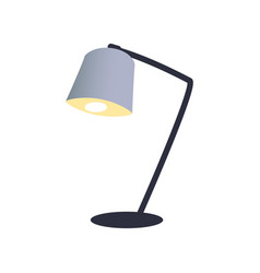 interior decor office lamp vector image