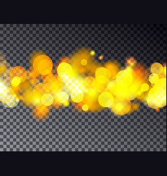 abstract bokeh background transparent fest vector image