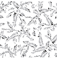 Abstract spot floral seamless pattern branch vector