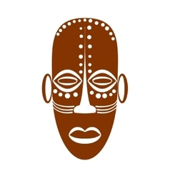 African Ethnic Tribal mask vector