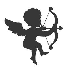 cupid love valentine vector image