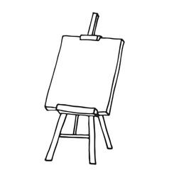 Easel icon vector