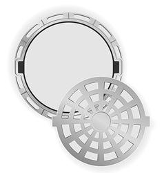 Manhole 06 vector