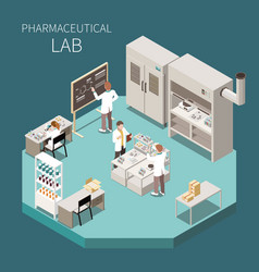 Pharmaceutical production isometric composition vector