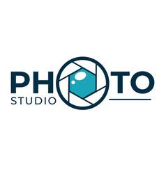 photo studio photography technology company or vector image