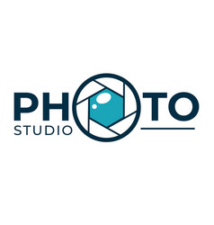 photo studio photography technology company vector image