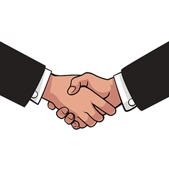 Shakehand vector image