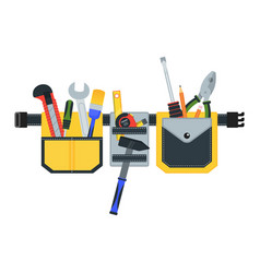tool belt for repair vector image