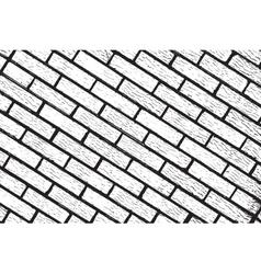 Distress Brickwall Texture vector image vector image