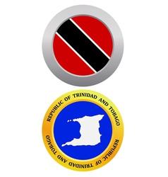 Republic of Trinidad and Tobago vector image vector image
