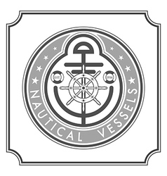 nautical vessels vector image