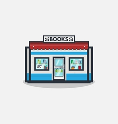 Books store vector