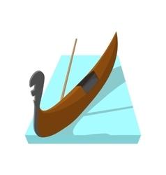 Gondola icon cartoon style vector image