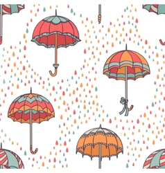 Umbrella Pattern vector image vector image