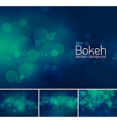 Bokeh and blur abstract background vector