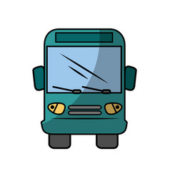 bus icon image vector image